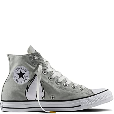 newest 2a4be 98b26 Converse Chuck Taylor All Star High Looney Tunes Rivalry Collection Bugs  Bunny Grey White Black 158234C Limited Edition