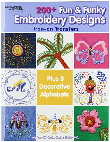 Leisure Arts-200+ Fun & Funky Embroidery (Funky Embroidery Designs)