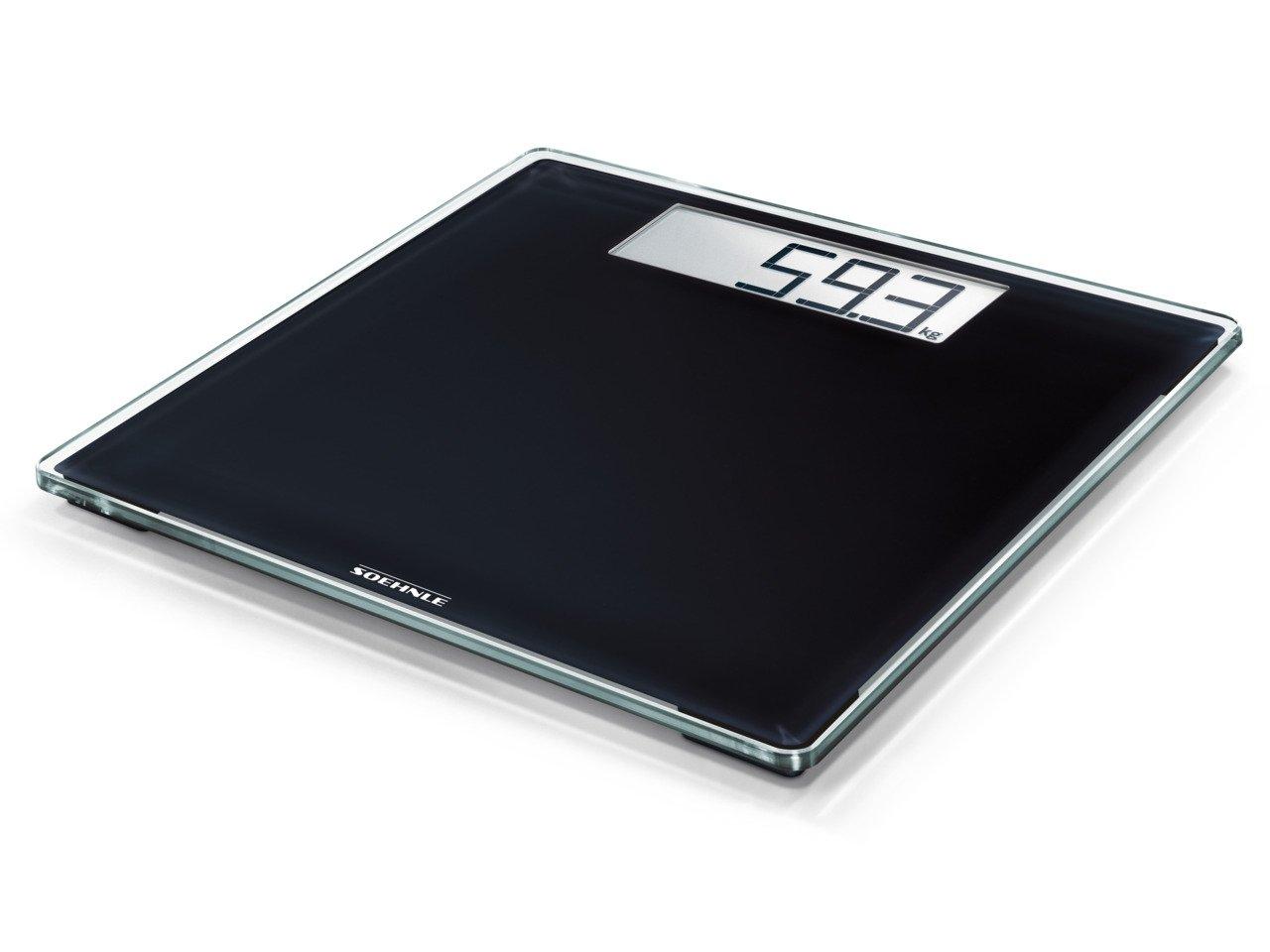 Soehnle Style Sense Comfort 400 - Bascula de bano digital, color negro: Amazon.es: Salud y cuidado personal
