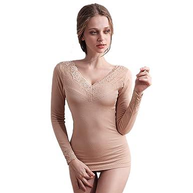 fournir beaucoup de le dernier bons plans 2017 MWPT Femme Ensemble de sous-vêtements Thermiques Mince ...