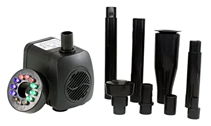 Pumps (water) Lovely Submersible Pump Fountain Quiet Water Pump For Aquarium Fish Tank Hydroponics Elegant And Sturdy Package Fish & Aquariums