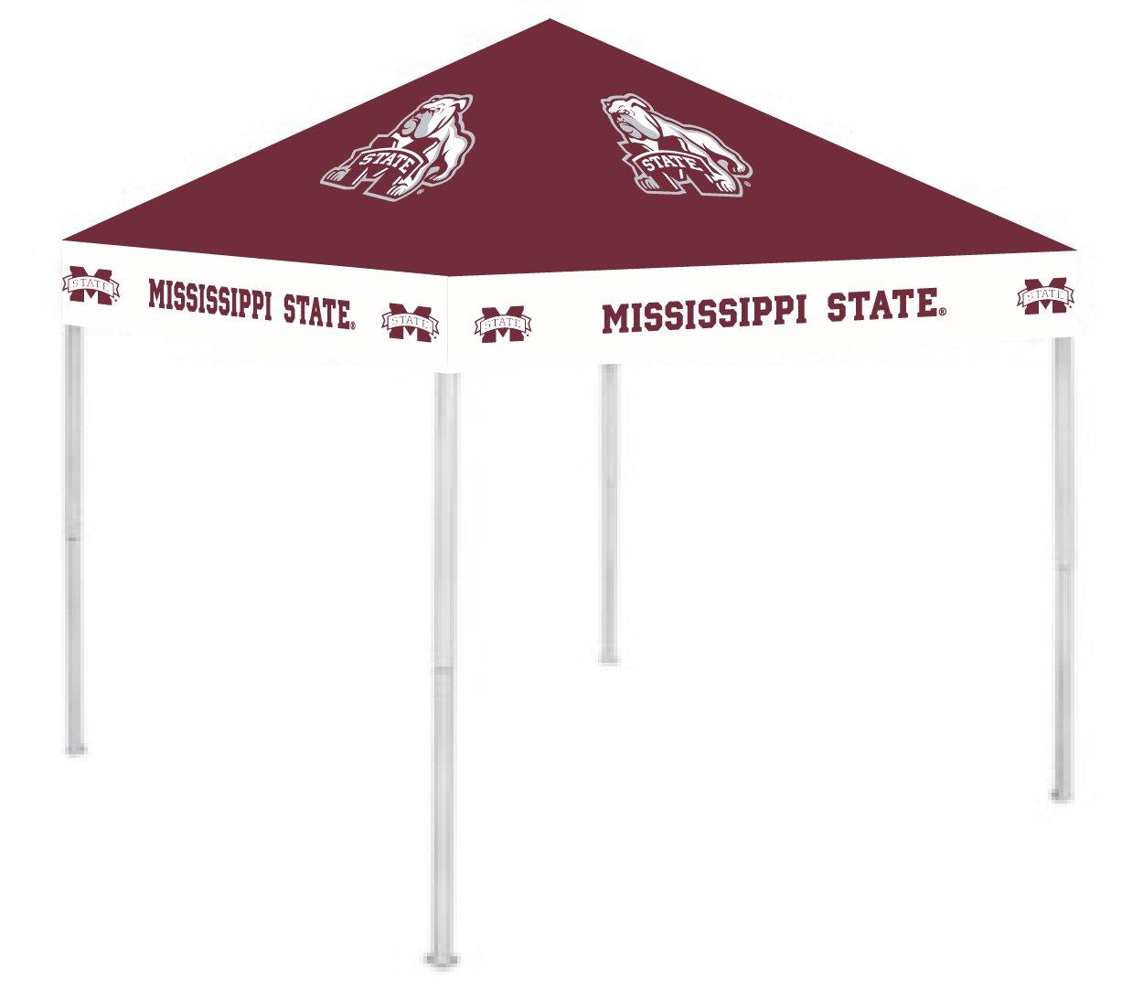 Rivalry RV276-5000 Mississippi State Canopy B001AZOW58 9 x 9 Mississippi State Bulldogs Mississippi State Bulldogs 9 x 9