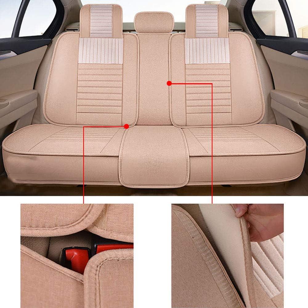 Chemu Lot de 9 Housses de si/ège de Voiture en Polyester pour Vectra xsara A3 A4 A5 A6 Q3 Q5 Renegade Compass