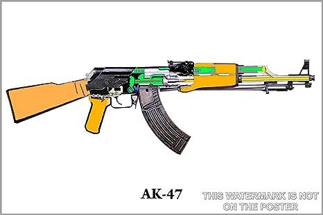 Amazon.com: AK-47 Schematic - 24