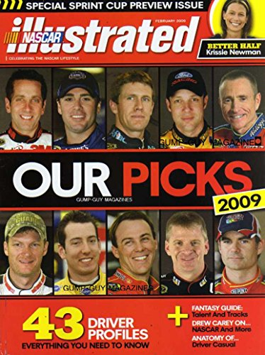 NASCAR Illustrated Magazine February 2009 FANTASY GUIDE: TALENT & TRACKS Drew Carey KRISSIE NEWMAN Ryan's Wife JUSTIN ALLGAIER Jimmie Johnson KYLE BUSCH Carl Edwards GREG BIFFLE