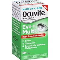B&L Ocuvite Eye + Multi Size 60ct Pack of 3