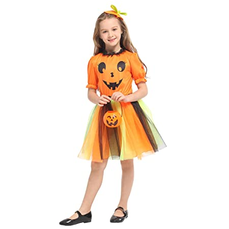 individuality childrens witch princess dress playful ghost dress costume children halloween costume girls boys halloween cosplay
