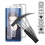 2x Huawei Honor 9 Lite Pellicola protettiva, EJBOTH Premium Vetro Temperato proteggi schermo telefono Cristallo trasparente Invisibile Scudo protezione di display cellulare - Ultra resistente Anti-bolla Alta definizione
