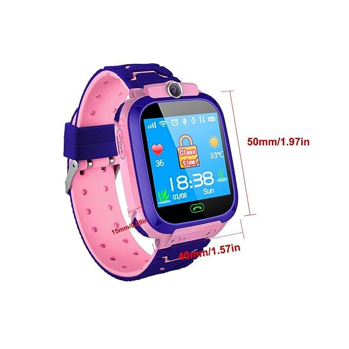 Qalabka Reloj Inteligente para niños con Ranura para Tarjeta SIM ...