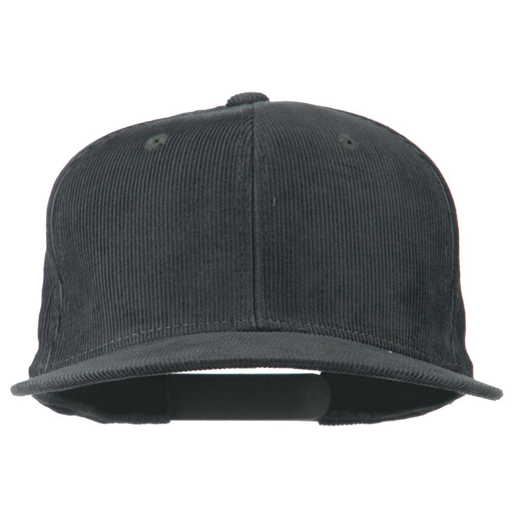 Corduroy Vintage Snapback Cap - Charcoal OSFM at Amazon Men s Clothing  store  2486f30c3f8