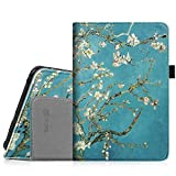"Fintie Folio Case for Kindle Fire HD 7"" (2012 Old Model) - Slim Fit Leather Cover with Auto Sleep/Wake Feature (will only fit Amazon Kindle Fire HD 7, Previous Generation - 2nd), Blossom"