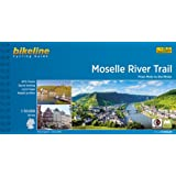 Moselle River Trail from Metz to the Rhine cycling guide GPS scale: 1/50