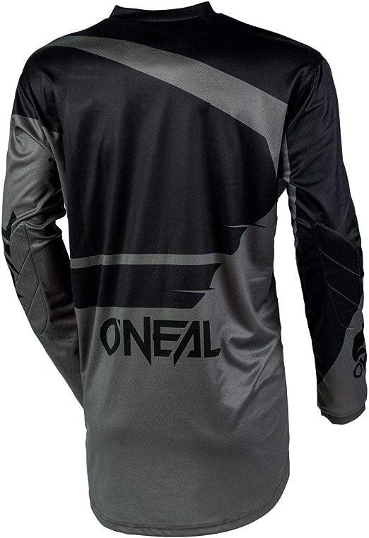 ONeal Element Attack Black//Hi-Viz Green Neon Adult motocross MX off-road dirt bike Jersey Pants combo riding gear set Pants W32 // Jersey X-Large
