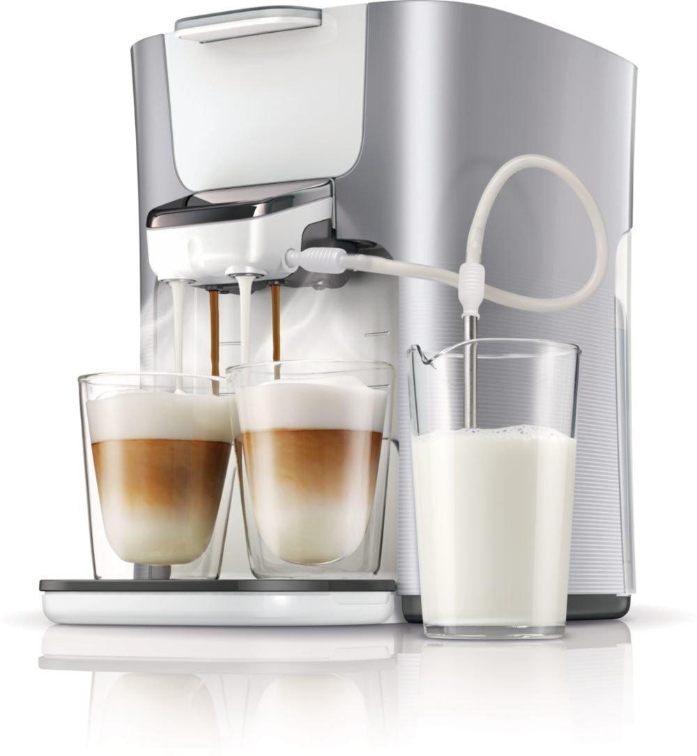 kaffeemaschine mit milch
