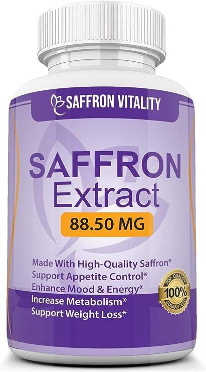 Amazon Com Saffron Vitality Saffron Extract 8825 Vegetarian