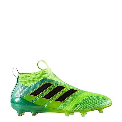 65e66fb41c8 adidas Mens ACE 17+ PURECONTROL FG Soccer Cleats (Sz. 9.5) Solar ...