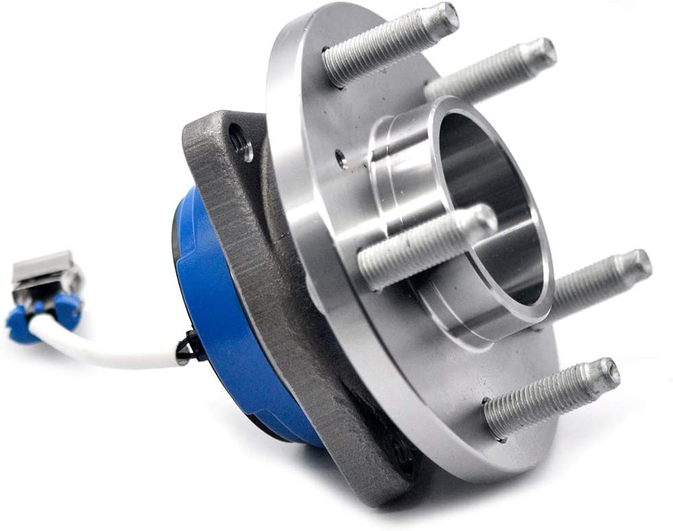 Century HICKS 513121 Front Wheel Bearing Hub and Bearing Assembly Allure Impala 5 Lug W//ABS Aurora Bonnevile