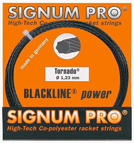 Signum Tennissaite Pro Tornado 12m, schwarz, 1,17, KR1007581,17