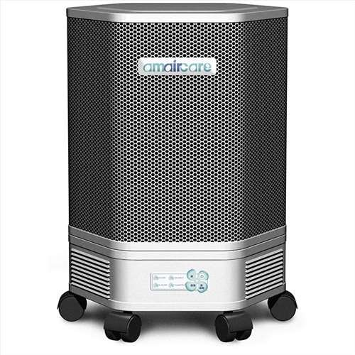 Amaircare 3000 HEPA Air Purifier, Pre, Post Filters, Pure White