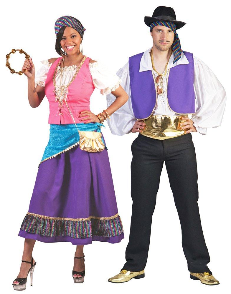 Traje gitano, tamaño 40/42, Carnaval reina gitana disfrazar ...
