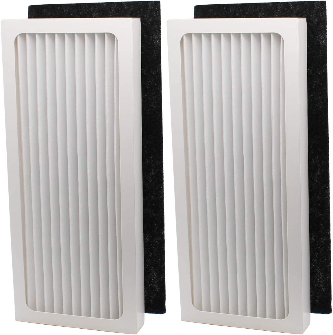 ApplianPar Pack of 2 Air Filter Replacement for Hamilton Beach True Hepa Air Purifier 04386A, 04383 04385 04384 990051000