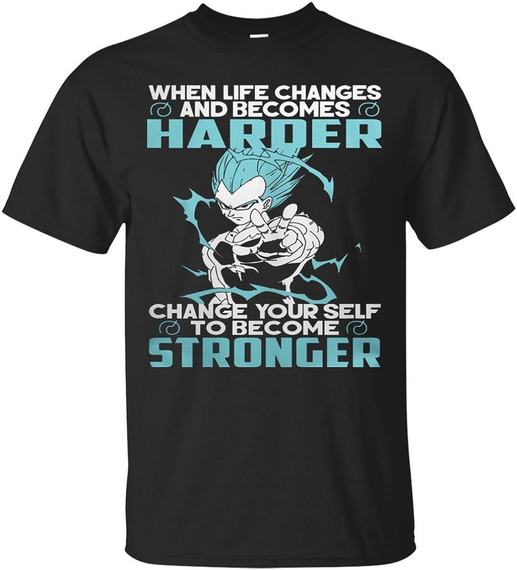 BBASELLER Change Yourself to Become Stronger Vegeta T Shirt