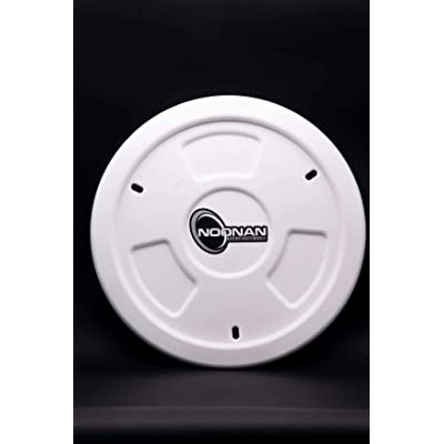 Noonan Industries Wheel Cover - Set of 2 (White): Automotive
