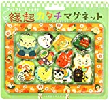 71406906 Japan Kawaii Fortune Item Magnet Assort 10pcs with Photo Frame, Kyoto Kurochiku
