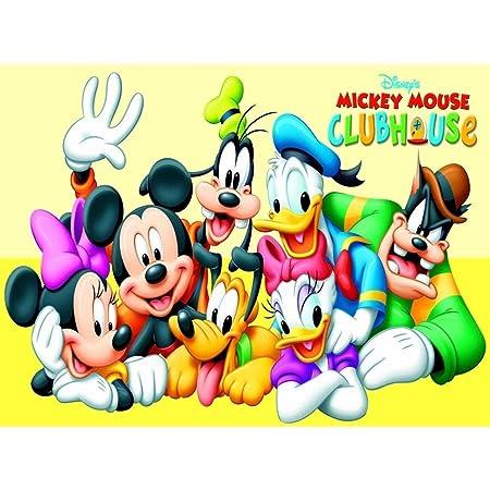 AMY-ZW Mickey Mouse Rompecabezas De Madera 500/1000/1500 ...