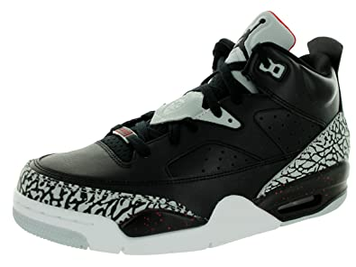 Nike Jordan Men's Jordan Son Of Low Black/Black/Unvrsty Red/Gry Mst