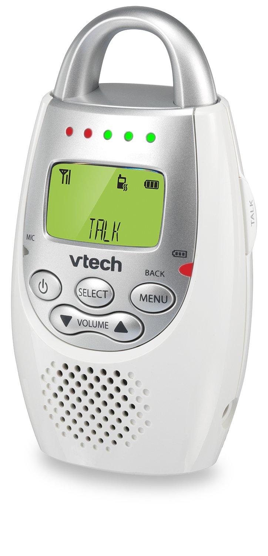 VTech DM221 Audio Baby Monitor with up to 1,000 ft of Range, Vibrating Sound-Alert, Talk Back Intercom & Night Light Loop by VTech (Image #11)