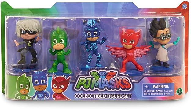 PJ Masks PJM05 toy figure Figuras coleccionables Niños - FiFiguras de acción y colleccionables (Figuras coleccionables, Multicolor, Series de TV y ...