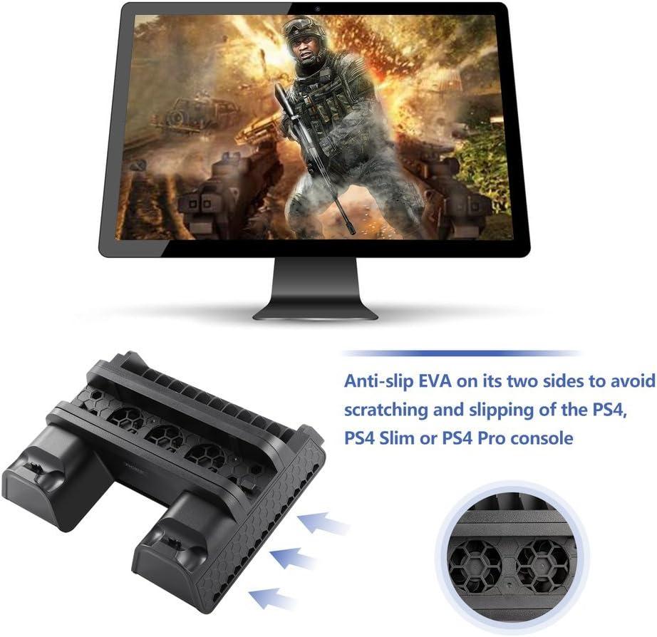 Cozime Soporte Vertical PS4, Base refrigeradora PS4 / PS4 Slim ...