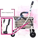 Amazon.com: luckyyan Ancianos Walker Foldable Portable ...