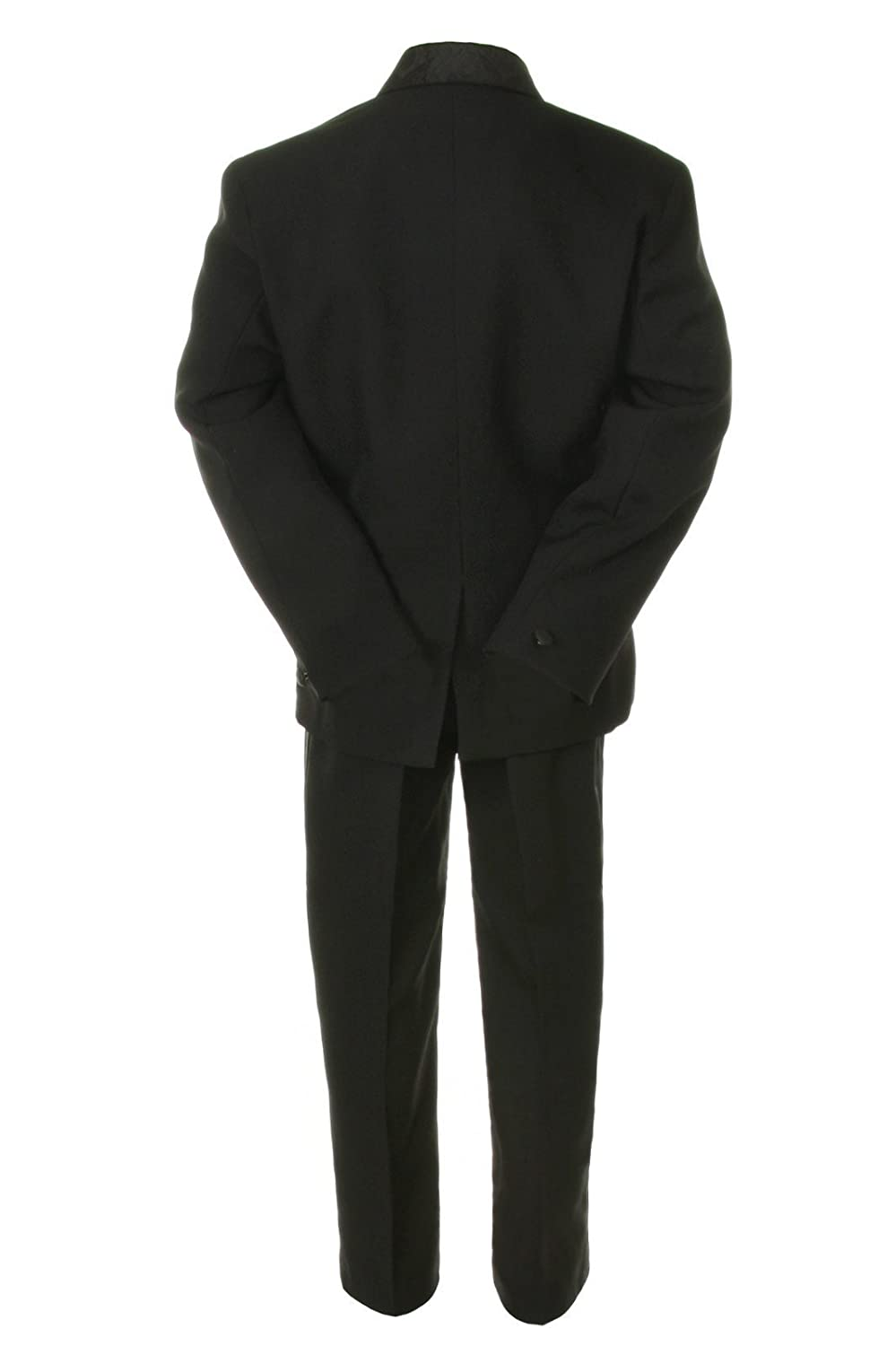 Unotuc Formal Boy Black Suit Paisley Tuxedo from Baby to Teen