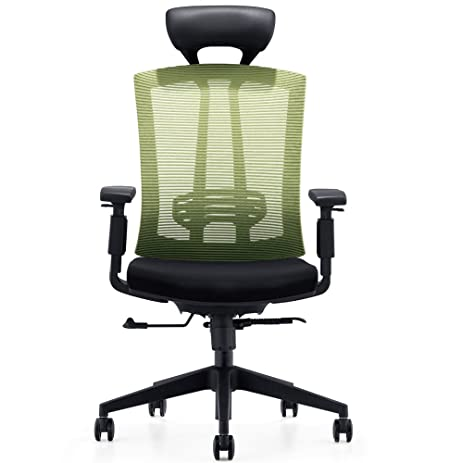 CMO 24 Hour High Back Ergonomic Office Chair With Tilt Lock, Tall Desk Chair  With