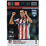 Panini Adrenalyn XL FIFA 365 Diego Godin Defensive Rock Trading Card