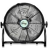 Industrial Electric Fan/8 Speed Free Standing Gym Fan/High Velocity Floor Standing Fan/Commercial Floor