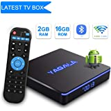 YA-II Android 7.1.2 TV BOX Amlogic S905W Quad-core Cortex-A53 64 bit Processore 2GB RAM 16GB ROM 2.4GHz/5GHz Dual Band WiFi Bluetooth 4.2 H.265