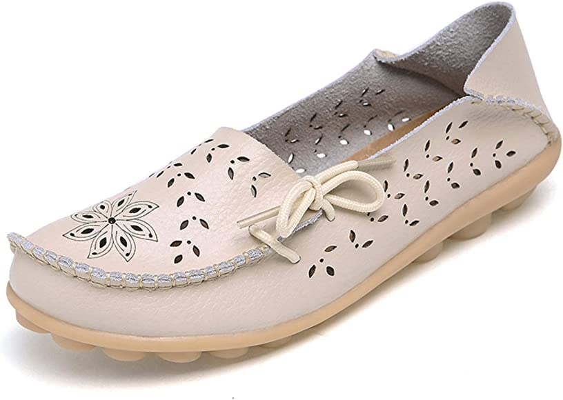 Breathable Comfort Walking Flat Loafer