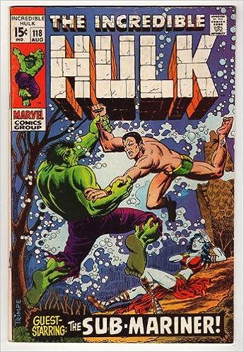 Amazon com: The Incredible Hulk #118: Stan Lee: Books