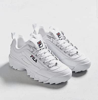 Fila White Fashion Sneakers For Women