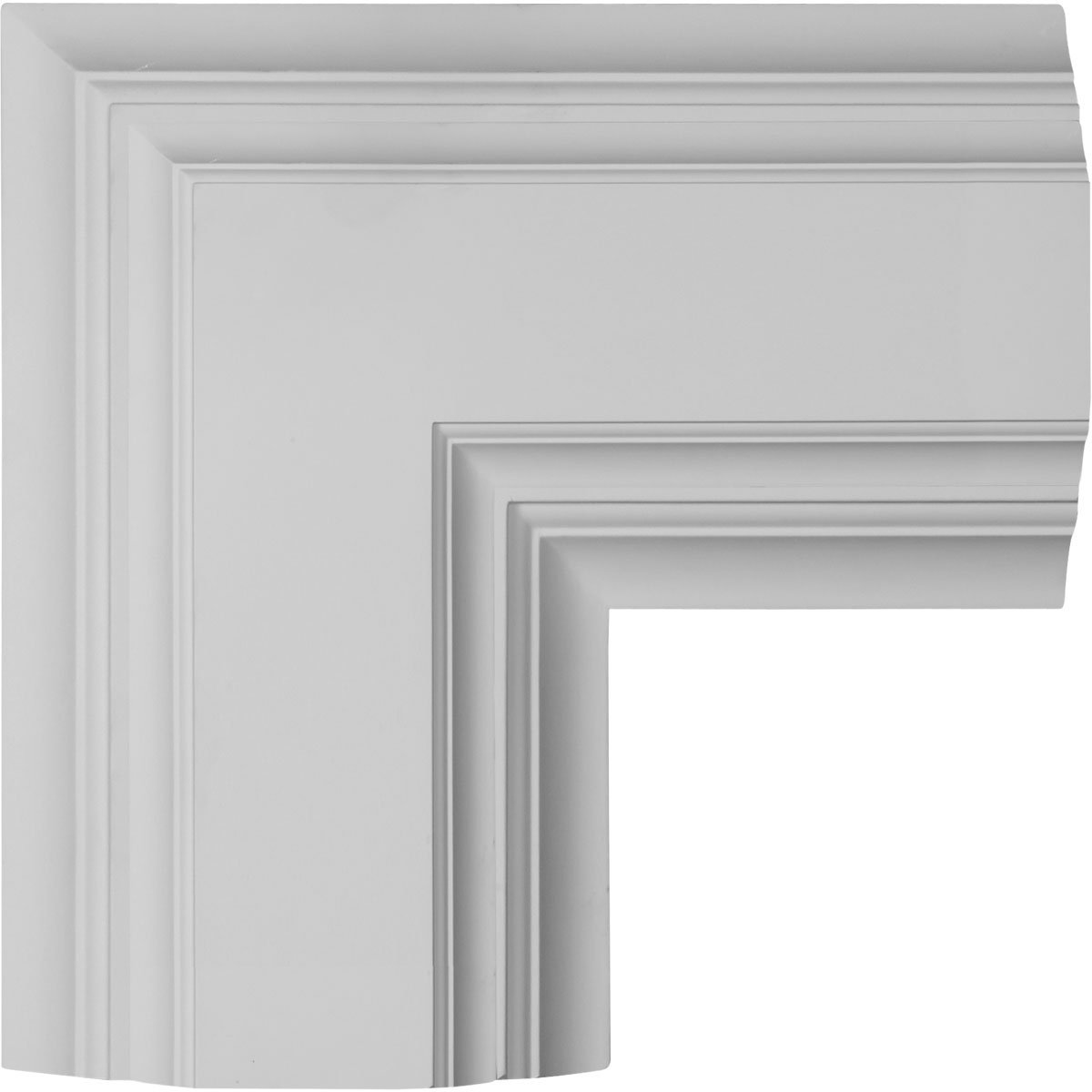 Ekena Millwork CC08IDI04X36X36DE 36W x 4P x 36L Inner Diamond Intersection for 8 Deluxe Coffered Ceiling System (Kit)