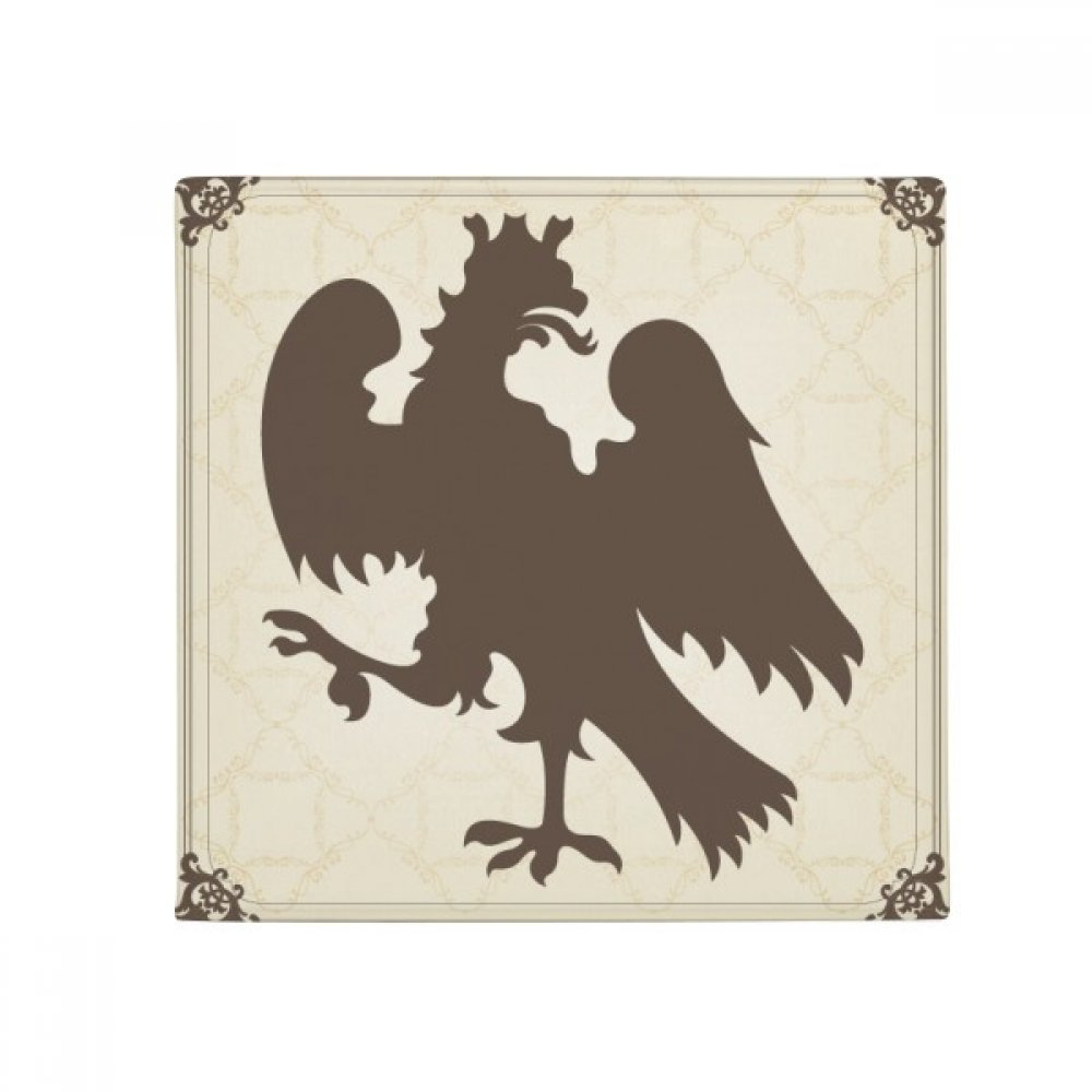 DIYthinker Europ Animals National Emblem Soar Eagle Anti-Slip Floor Pet Mat Square Home Kitchen Door 80Cm Gift