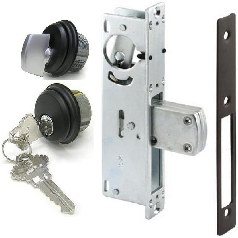 """10 New Mortise Lock Cylinders 1/"""" for Store Front Door Adams Rite All Keyed Alike"""