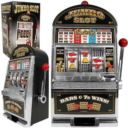 Jumbo Slot Machine Bank - Authentic Replication by Trademark Commerce