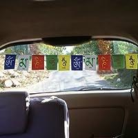 VRCT Tibetian Buddhist Prayer Flags For Car