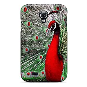 Premium The Majestic Peacock Heavy-duty Protection Case For Galaxy S4