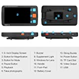 Koolertron Digital Video Magnifier,Handheld