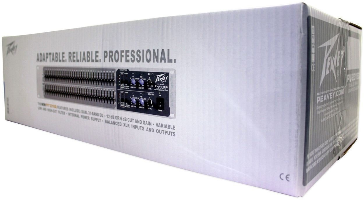 Peavey PV231EQ 31-Band Graphic Equalizer PV 231EQ + (2) Headphones by Unknown (Image #4)